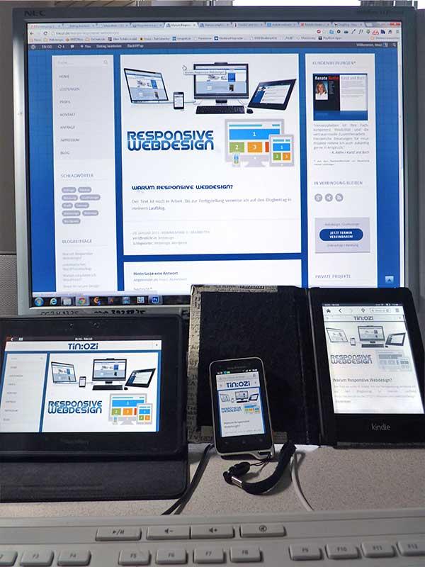 tinozi.de: Responsive Webdesign